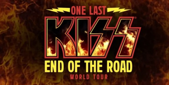 Kiss End of the road world tour Amsterdam